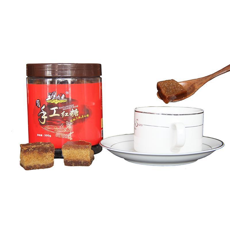 【广西河池】巴马瑶娃手工红糖 300克/瓶
