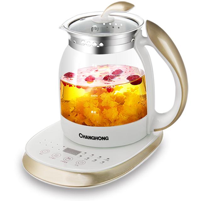 长虹养生壶全自动药煲加厚玻璃多功能中药花茶壶黑茶煎药壶煮茶器