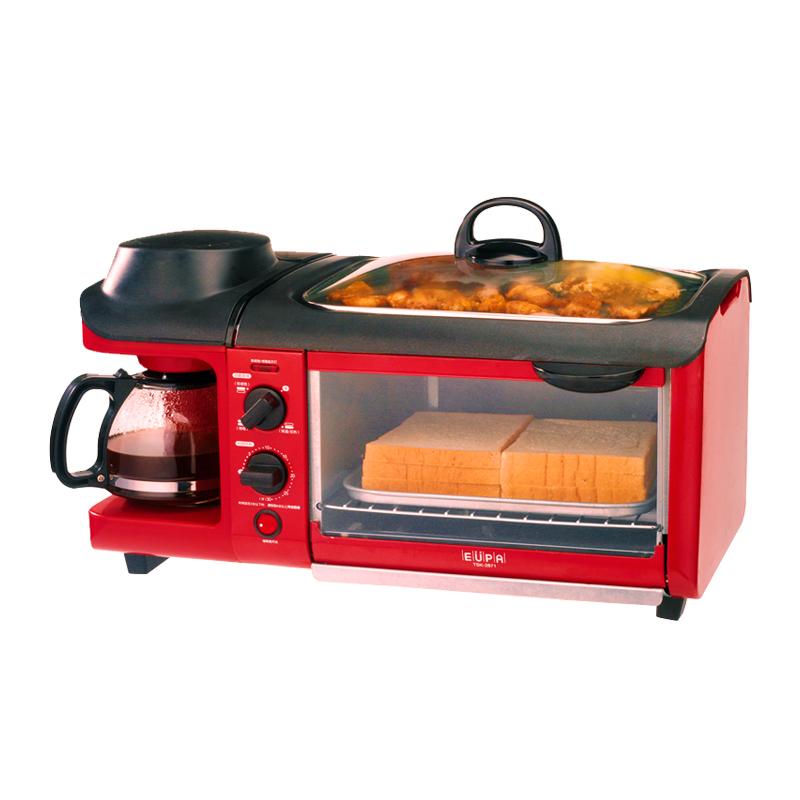 EUPA早餐吧家用全自动烤面包机吐司机多士炉煎烤机多功能早餐机