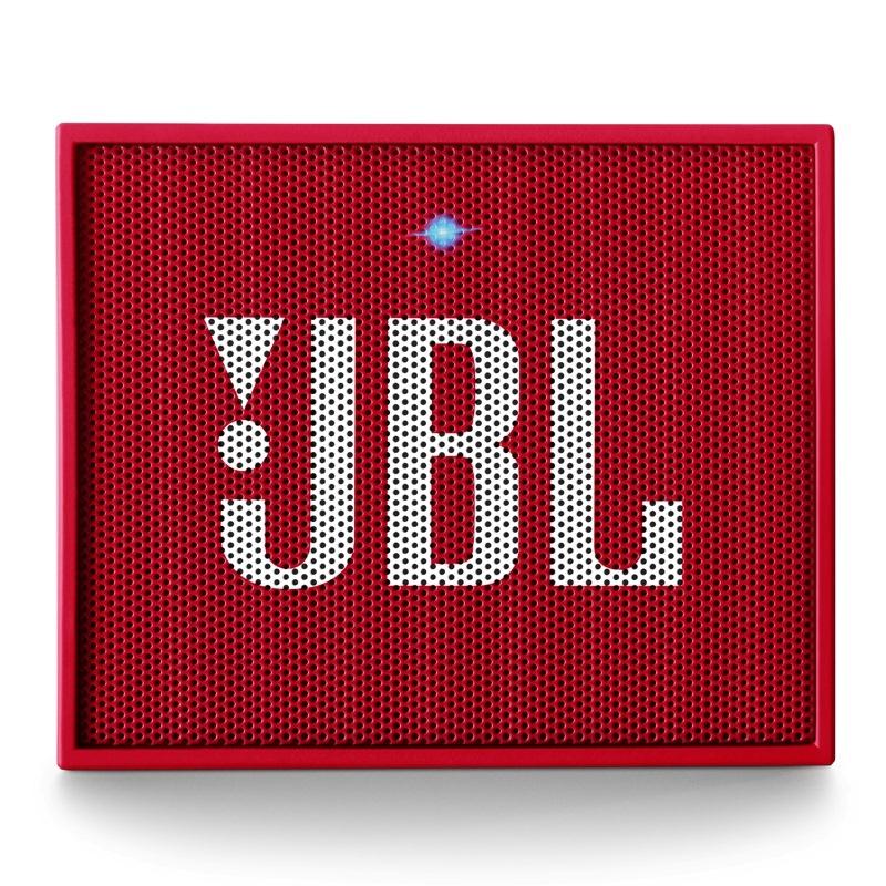 JBL GO 音乐金砖 蓝牙小音箱 音响 低音炮 便携迷你音响 音箱 魂动红