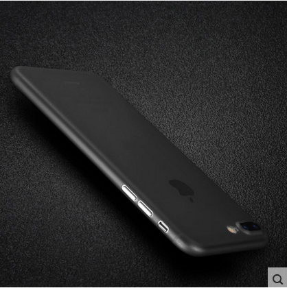iphone手机壳超薄苹果plus磨砂保护套全包P防摔透明壳硬