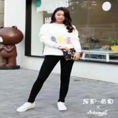 魔术裤韩国SP-68正品秋冬款加绒黑色中高腰紧身小脚铅笔打底裤女