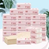 【会员】良布(DELLBOO) 本色抽纸超韧3层30包整箱软抽面巾纸