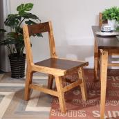 柏家居80s 纯柏木实木家具 BL-0B01餐椅