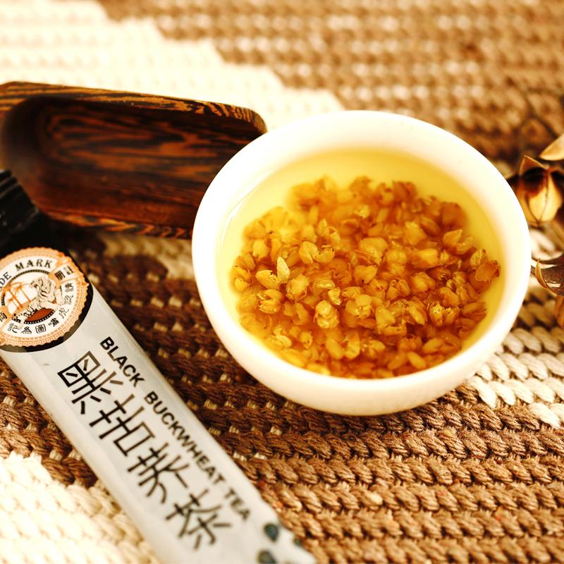 【优品超市】中国香港品牌 虎标 茶叶 黑苦荞茶 全胚芽全颗粒 荞麦茶 350g/袋