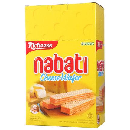 印尼进口丽芝士纳宝帝奶酪威化饼干
