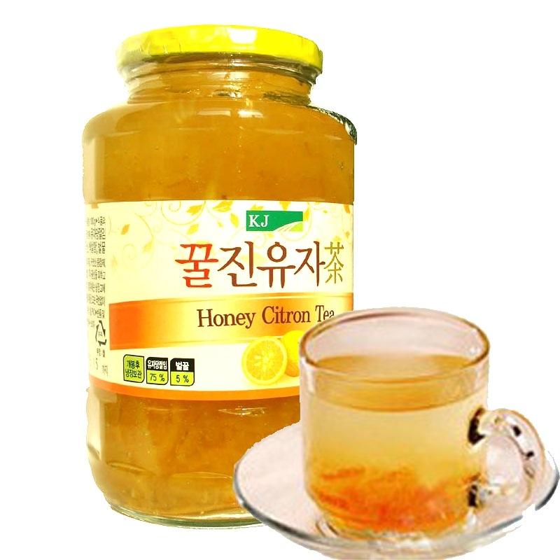 【优品超市】韩国进口 KJ蜂蜜柚子茶1000g