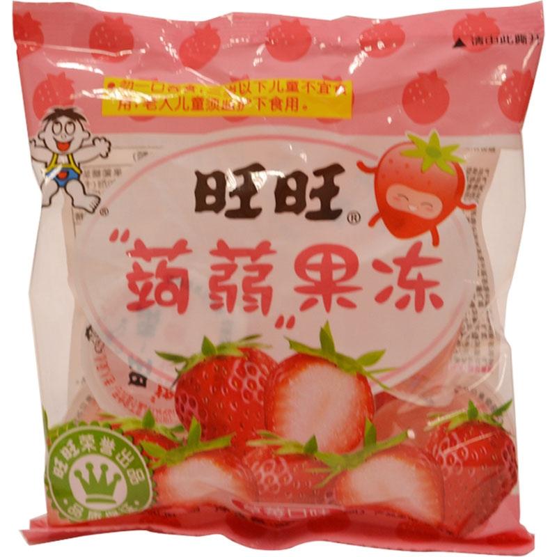 【优品超市】旺旺 蒟蒻果冻 草莓味 (加量包) 170g+30g