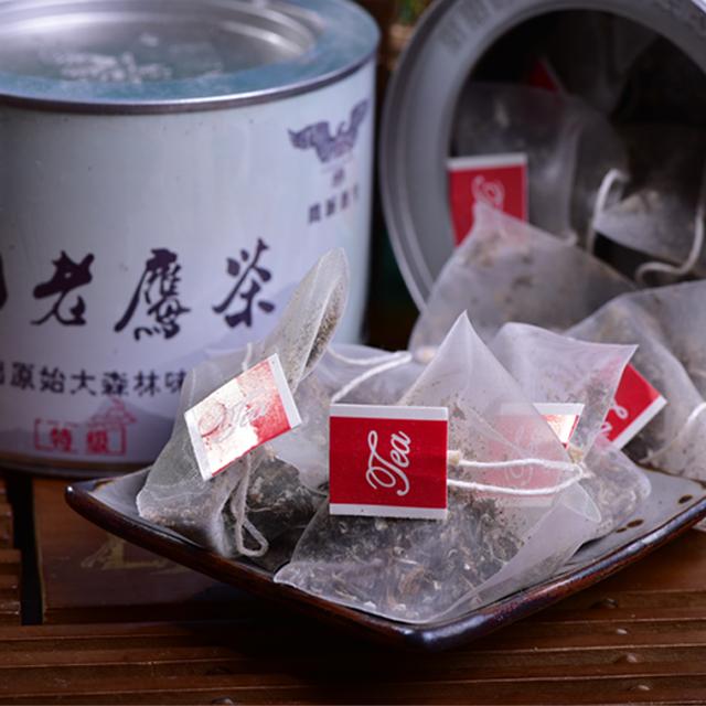 【峨边·峨岭云边】高山老鹰茶(银罐)48g/罐(全国包邮)