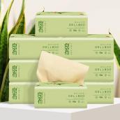 【75折特惠】良布竹纤维本色抽纸1箱(27包) 食品级 无添加 拒漂白