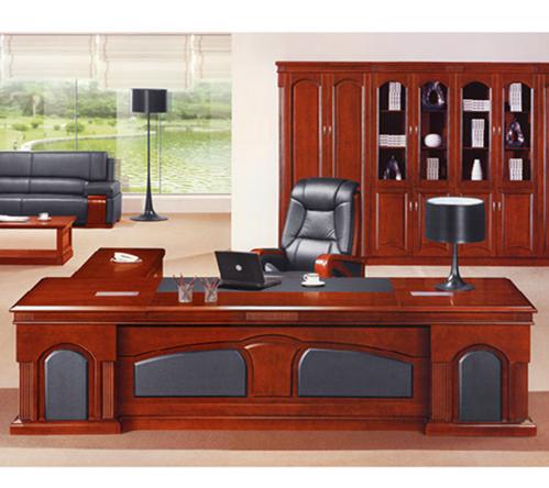 云贵办公家具直面班台实木皮YG-BT0912(3600Wx11500Dx760H)