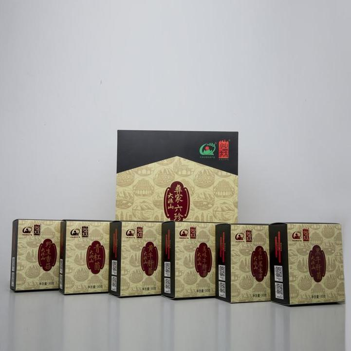 【四川木里】彝家六珍礼盒180g/盒