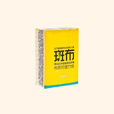 【斑布生活用纸】布质抑菌竹纸 竹纤维,给你健康生活。斑布BASE系列手帕12个装