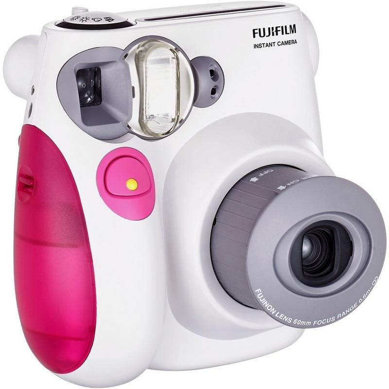 富士(FUJIFILM)INSTAX 一次成像相机 MINI7s相机 粉色