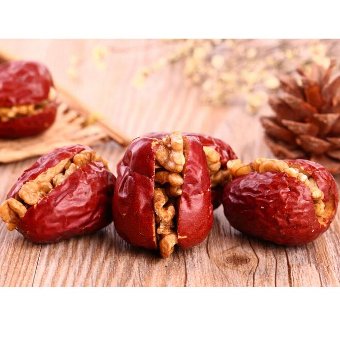 枣甜夹脆核桃 200g/袋 休闲零食 自有基地有机种植原料保证