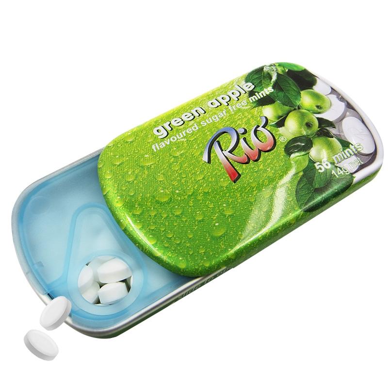 【优品超市】Rio 瑞欧 无糖薄荷糖 青苹果味14g(盒装)新老包装随机发售