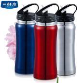 正宗台湾品牌三杯水户外高端便携式不锈钢弱碱水质净水杯