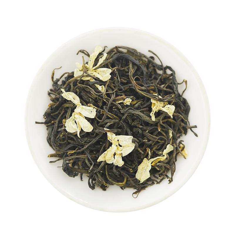 林湖茉莉花茶茶叶明前特级春茶浓香型散装高山袋装口粮茶