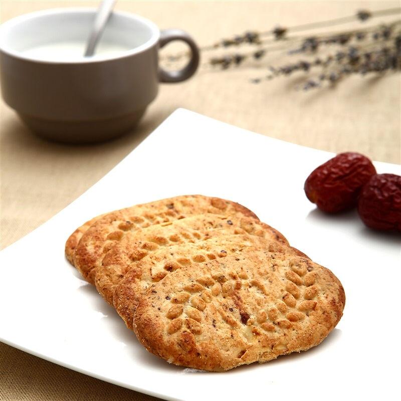 【优品超市】焙朗早餐饼干苹果红枣味300g(新老包装随机发货)