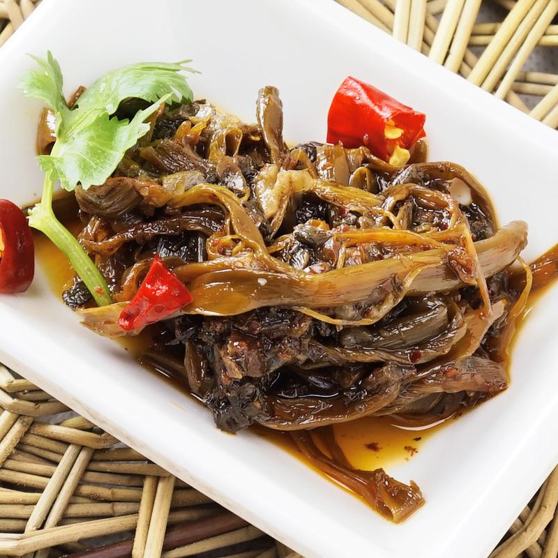 饭菜香辣椒酱268g四川泡香辣味即食拌面拌饭咸菜下饭菜