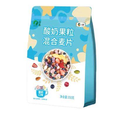 中粮酸奶麦片混合果粒