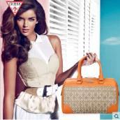 美国GUESS手提包女包斜跨单肩欧美时尚经典桶包