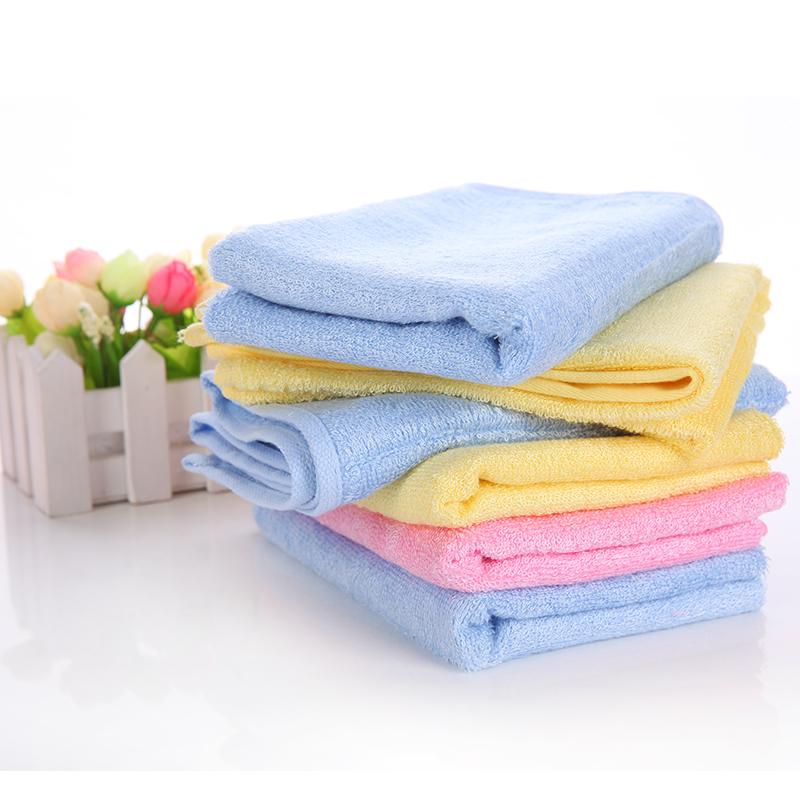 7390柔软高吸水素雅 竹纤维大毛巾特价12.8包邮送方巾哟