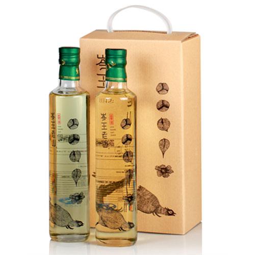 山茶油500mlx2瓶/盒 原香型