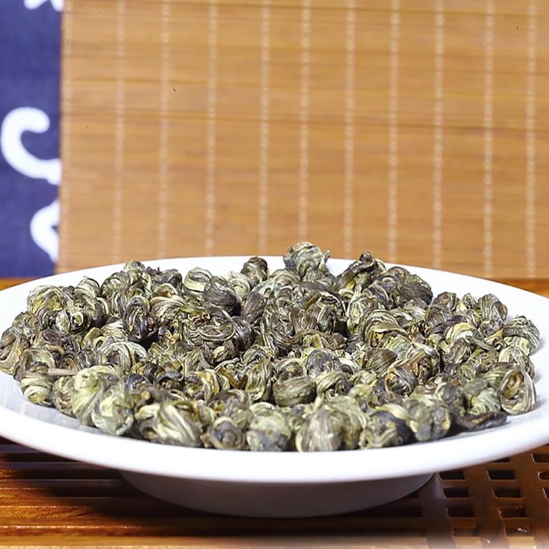 【优品超市】贡苑 茶叶 花草茶 茉莉龙珠茉莉花茶罐装半斤量贩装 250g/罐