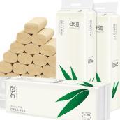 【75折特惠】良布36卷竹纤维本色卷纸 (4层)36卷/箱 市场价39.9元 DH
