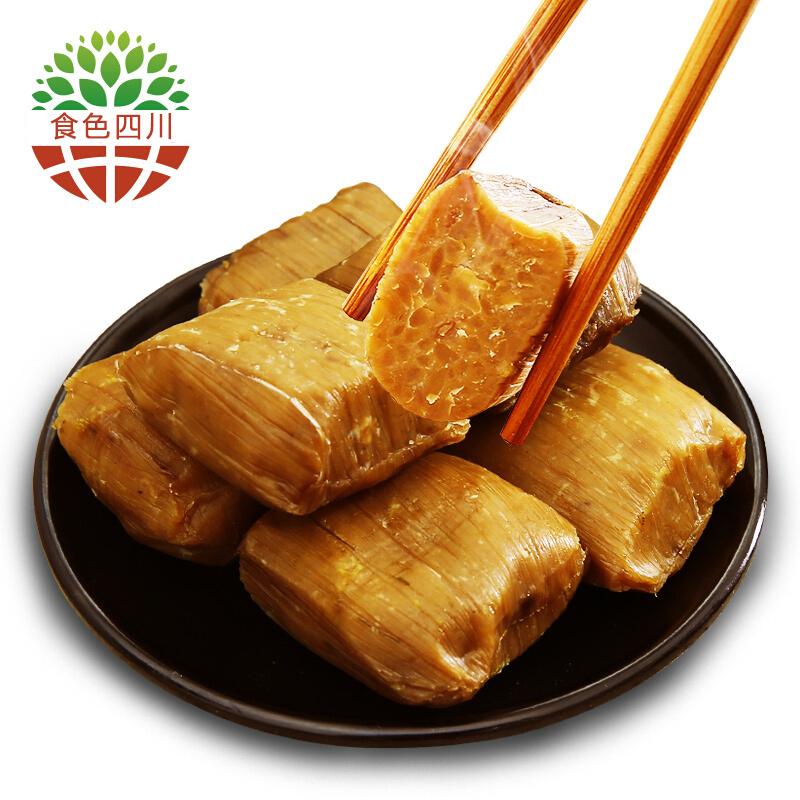 小黄粑糕350g/袋 四川特产竹叶糕中式糯米小吃