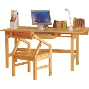 名松屋全实木书桌 AS-5055