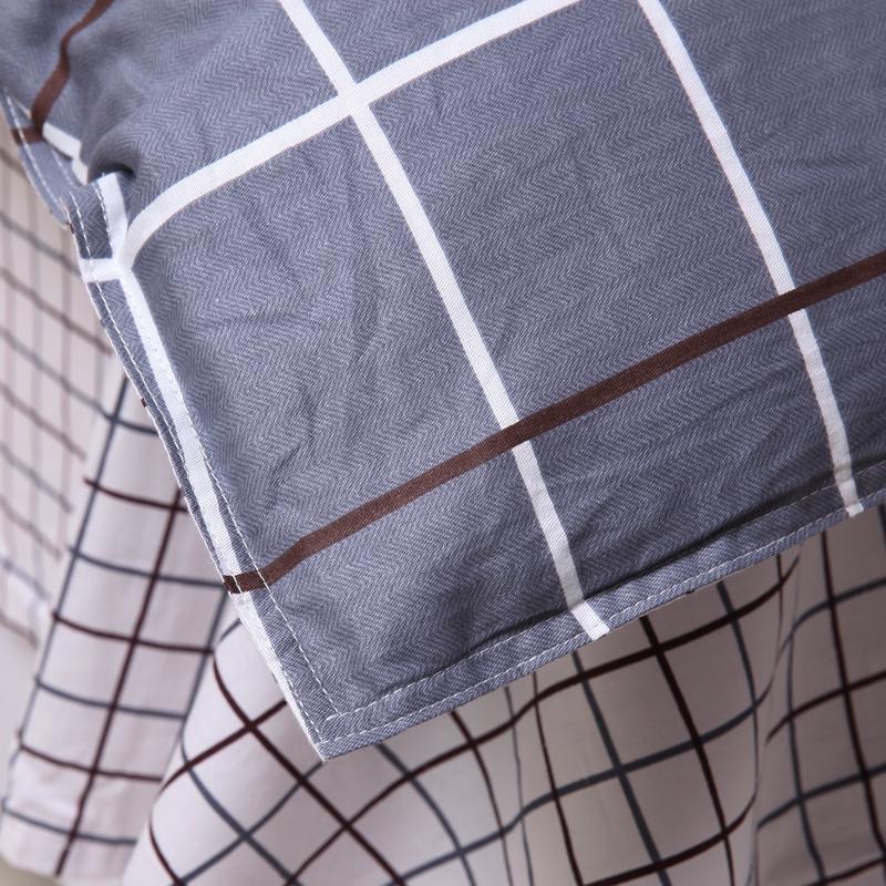 纯棉新品加宽风情格调印花四件套包邮送方巾特价