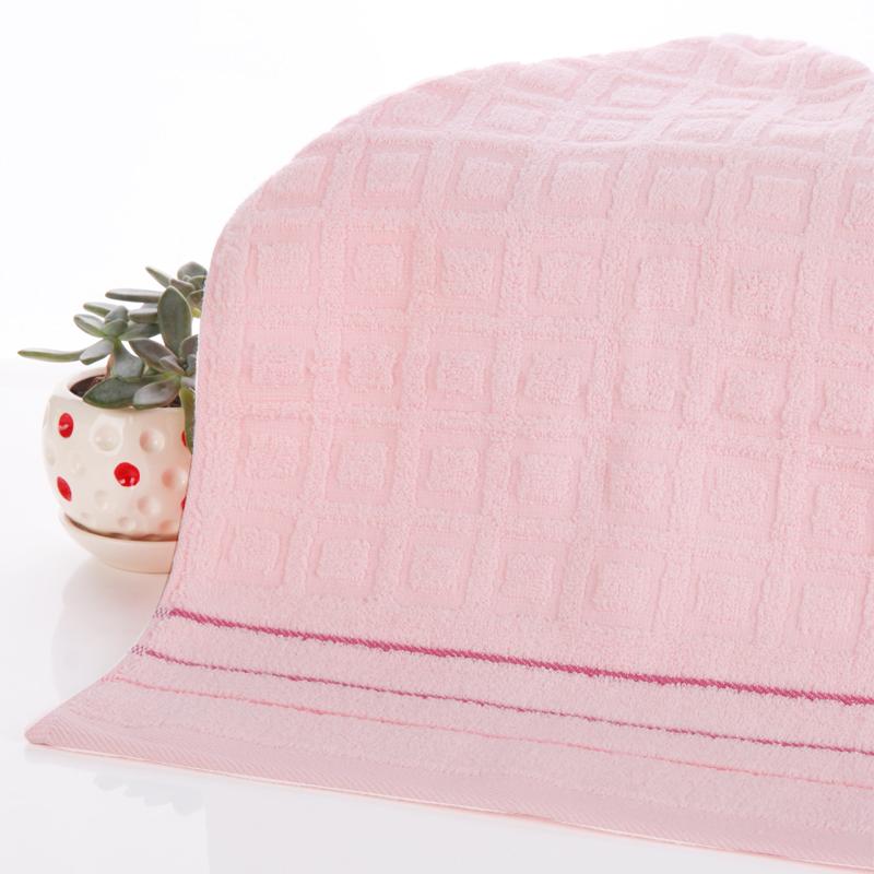 无捻提花纯棉柔软高吸水毛巾4条混合装送方巾(此为线下销售)