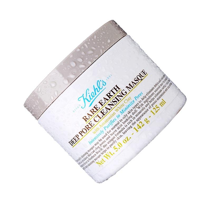 【优品超市】科颜氏(Kiehl's)亚马逊白泥净致面膜125ml(又名:亚马逊白泥净肤面膜)温和清洁去黑头
