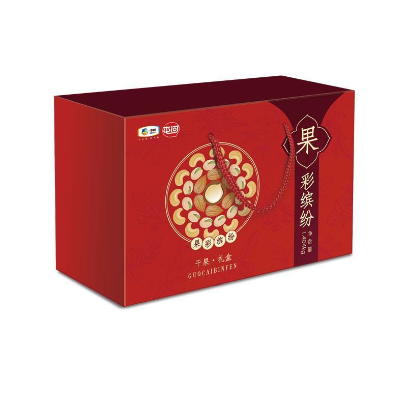 中粮屯河 8种坚果果彩缤纷礼盒 1404g