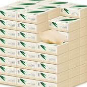 【75折特惠】良布24包竹纤维本色抽纸300张(3层)24包/箱(市场价39.9元) DH