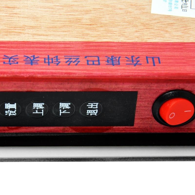 康巴丝(COMPAS)数码万年历挂钟LED电子静音钟表客厅办公室夜光挂表1020 招财进宝