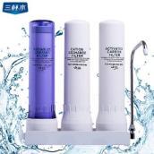 台湾原装正品三杯水 硬水专用 软化水质专用净水器 北方硬水区用
