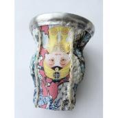 【阿根廷进口】当地玻璃质马黛茶专用茶具、极具中国传统文化艺术品、送礼包邮
