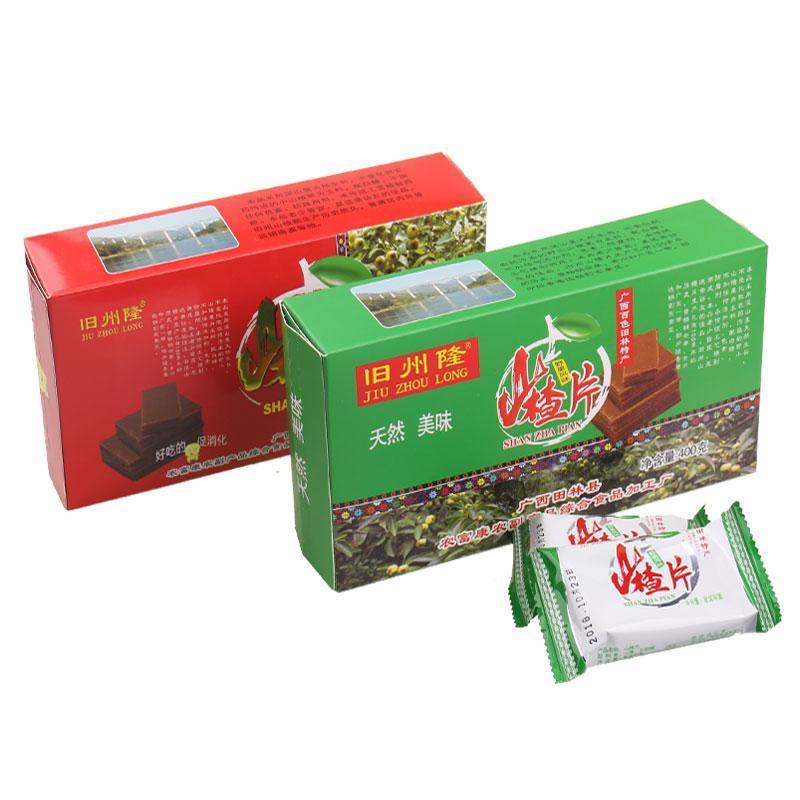 【广西田林】特产 山楂片山楂条400gX2盒 纯野生果