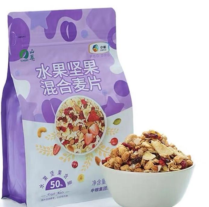 中粮50%水果坚果混合麦片